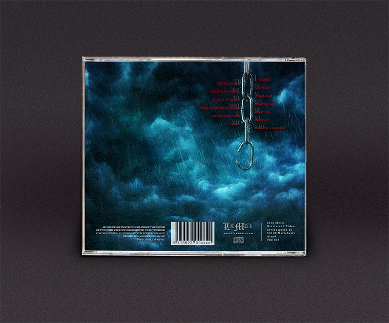 Night in Wales Doubts and Fears CD packaging artwork