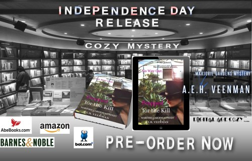 New Release, Prepped for the Kill by A. E. H. Veenman