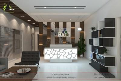 Software House Reception Area Designed by AenZay | Aenzay ...