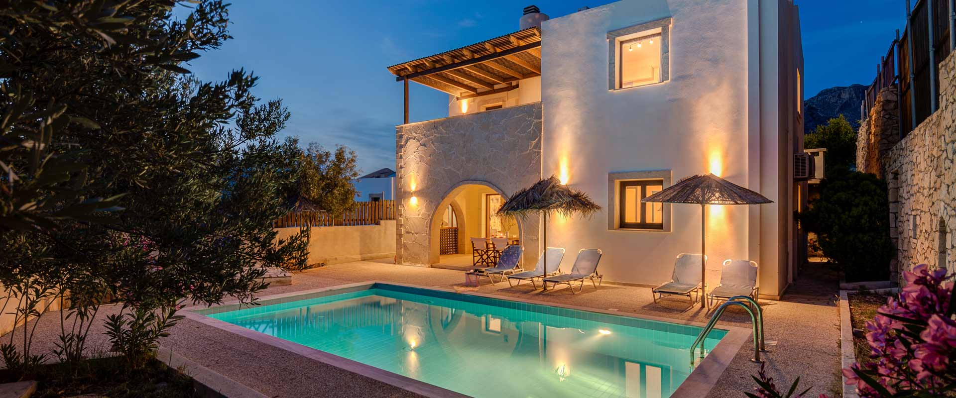 Holidays Villas Makrigialos Crete Holidays Villas And Apartments