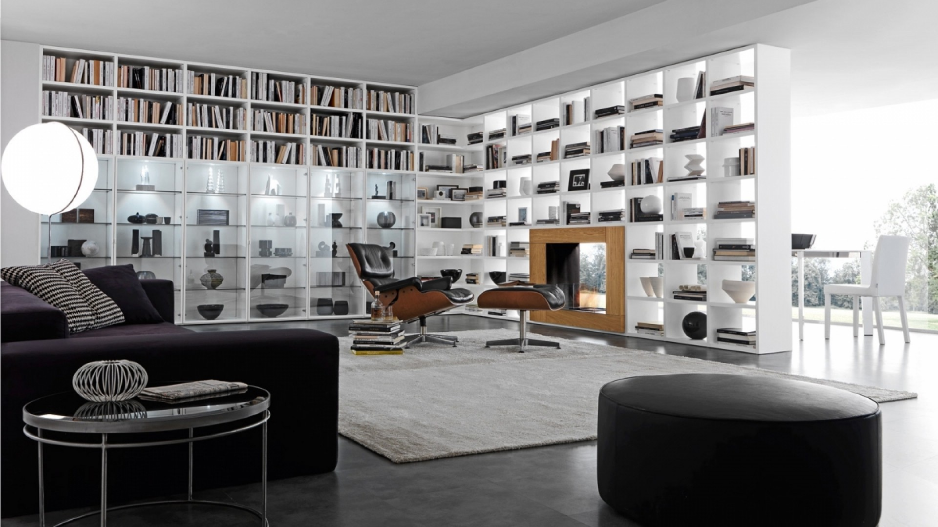 Libreria Del Camino Pari Dispari Bookcase System By Presotto Habitat By Design