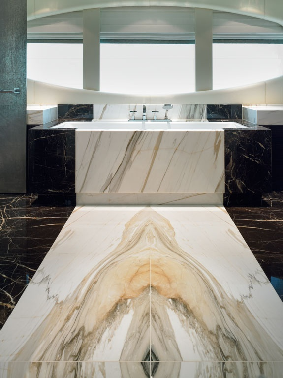 Houzz Benches Bookmatch Marble - Aeon Stone + Tile | Granite, Marble
