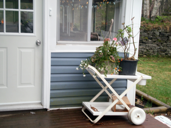 Garden cart, picked up at the 'Habitast For Humanity' 'ReDtore'.