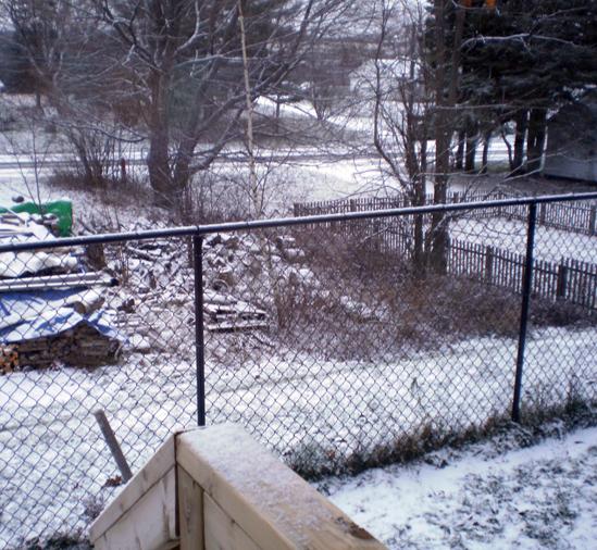 snowy look toward Canada Street.