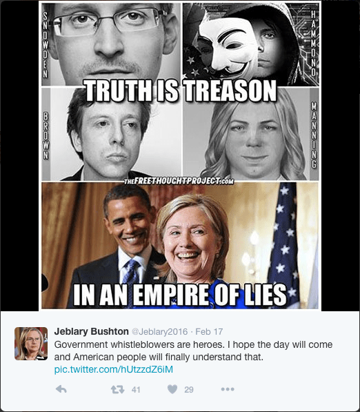 """""""Truth is Treason in an Empire of Lies"""""""