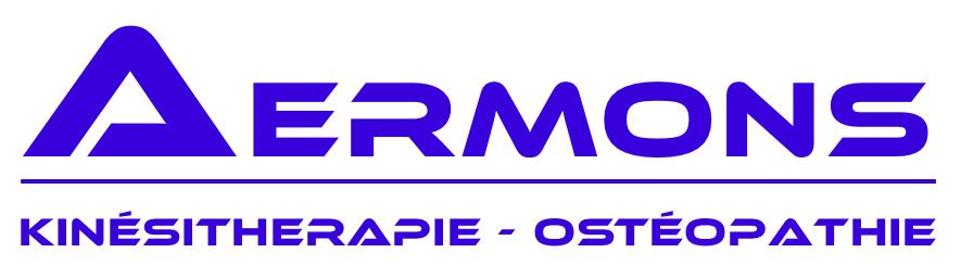 Aermons Cabinet de Kinésithérapie et Ostéopathie Logo