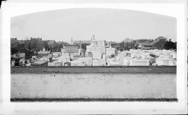 St. Louis Cemetery No. 1, New Orleans, Louisiana (Louisiana State Museum, ca. 1880-1920)