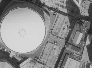The Superdome in New Orleans Before Katrina (Aero-Data Corporation, 2002)