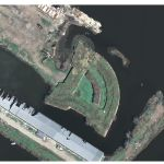 Aerial Photograph of Fort Macomb (USGS, 2006)