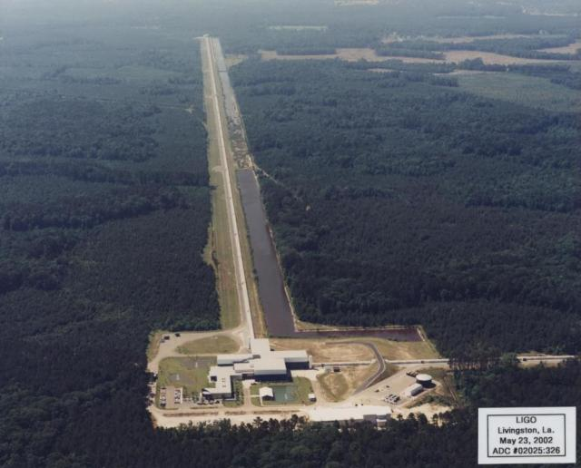 LIGO in Livingston, Louisiana (Aero-Data, 2002)