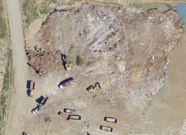 Aerial Photo of a Waste Site (Aero-Data)