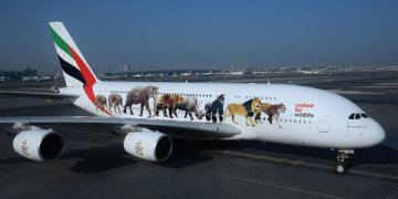 Emirates reveals United for Wildlife Airbus A380 -thenewscompany