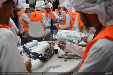 Selection of pictures from A380 Assembly Workshop of Airbus Little Engineer