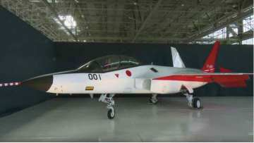 Japan unveils new fifth generation stealth fighter jet