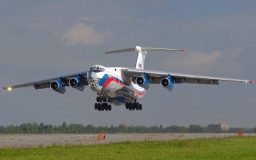 Russian Air Force Receives First Russian-assembled Il-76MD