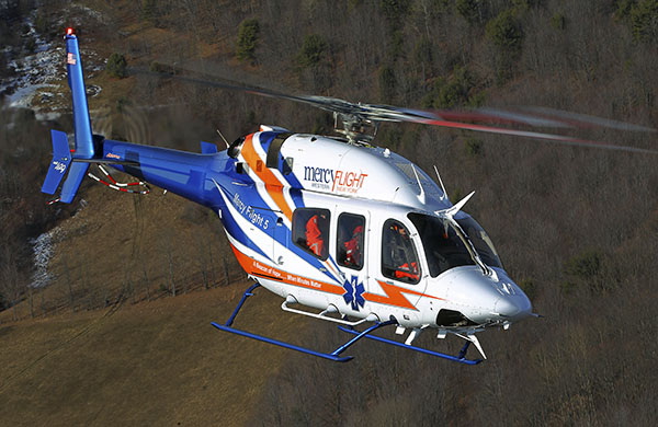 Bell 429 Mercy Flight.  2013