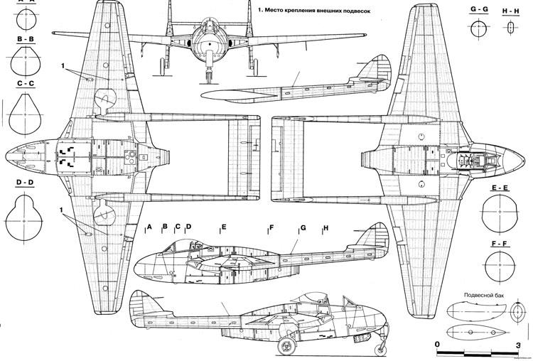 3d Wallpaper Gyro De Havilland Dh100 Vampire Plans Aerofred Download
