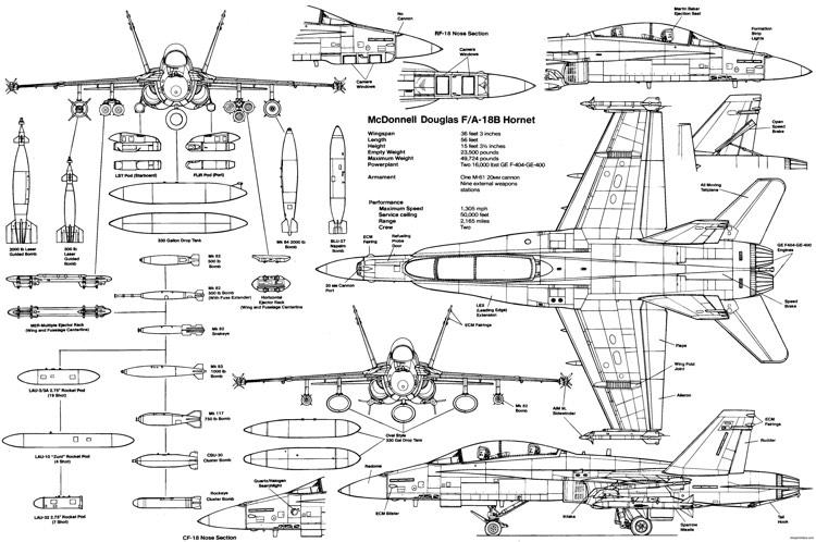 f18 jet engine diagram