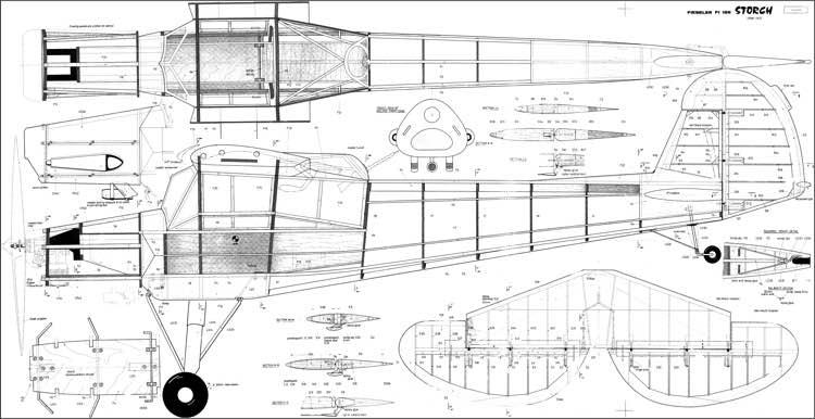 3d Wallpaper Gyro Fieseler Storch Plans Aerofred Download Free Model