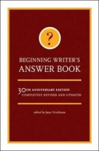 beginning writers answer book