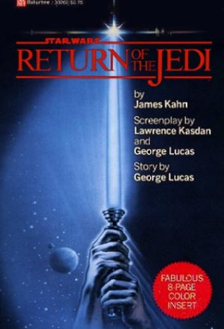 Return of the Jedi - 1983's bestselling book