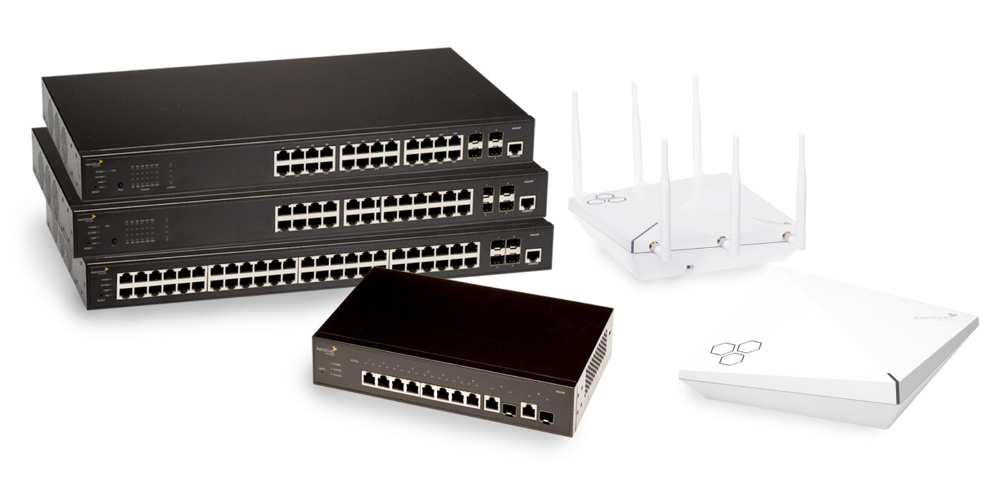 Modem Libre Routers Aerohive Networks