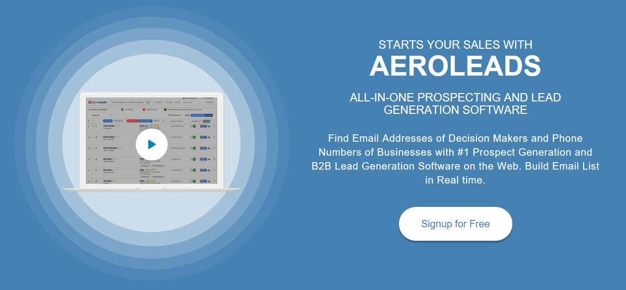 10 Best Lead Generation Services Providers - AeroLeads