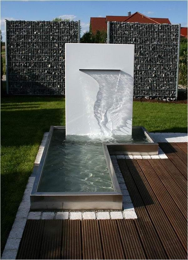 Wasserfall Garten Modern