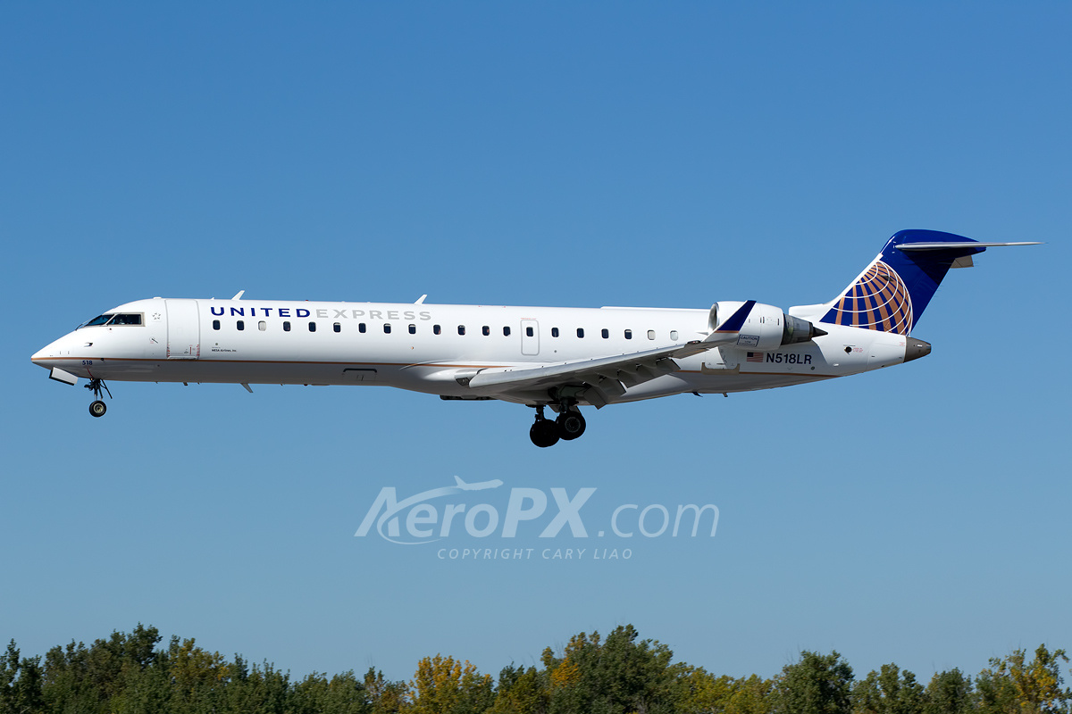 Mesa Airlines United Express Mesa Airlines Bombardier Crj 700 Cl 600 2c10