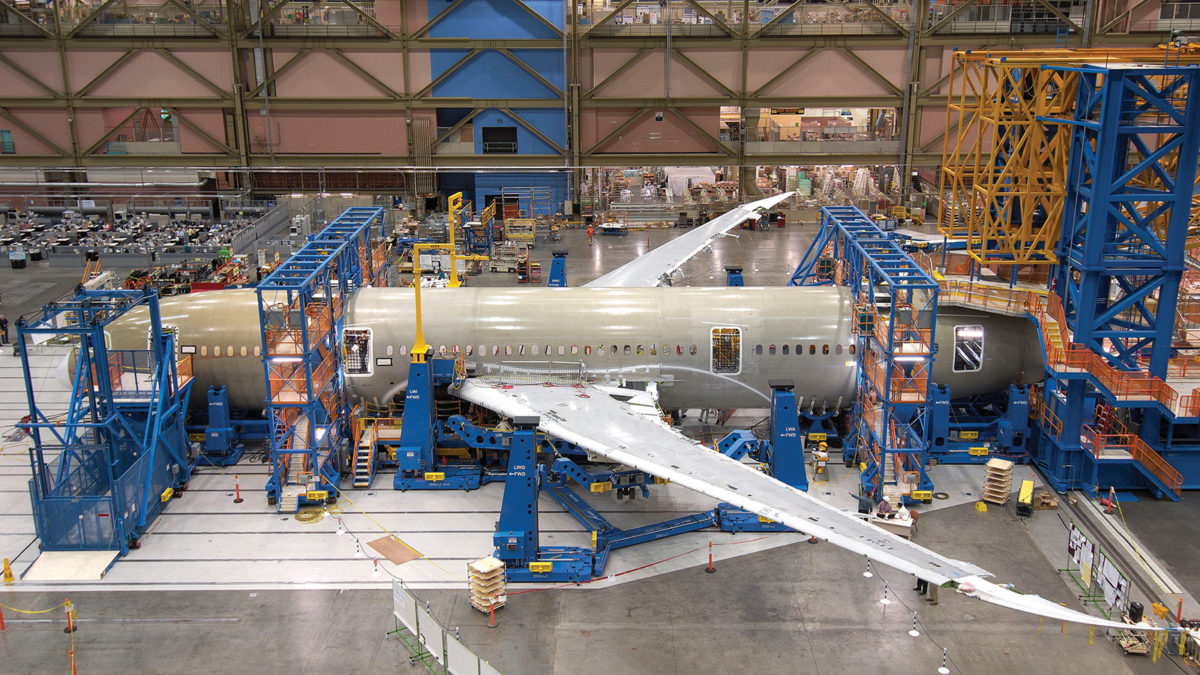 Factory Manufacturer Parts Making 3d Printed Parts For Boeing 787s Aerospace America