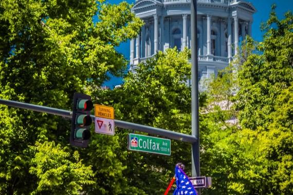 Capitol Building. Denver Pride Parade 2016