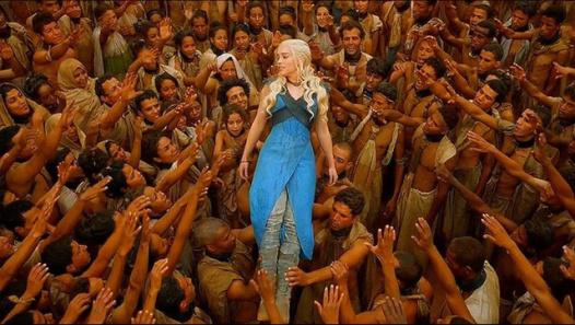Daenerys Targaryen as White Savior.