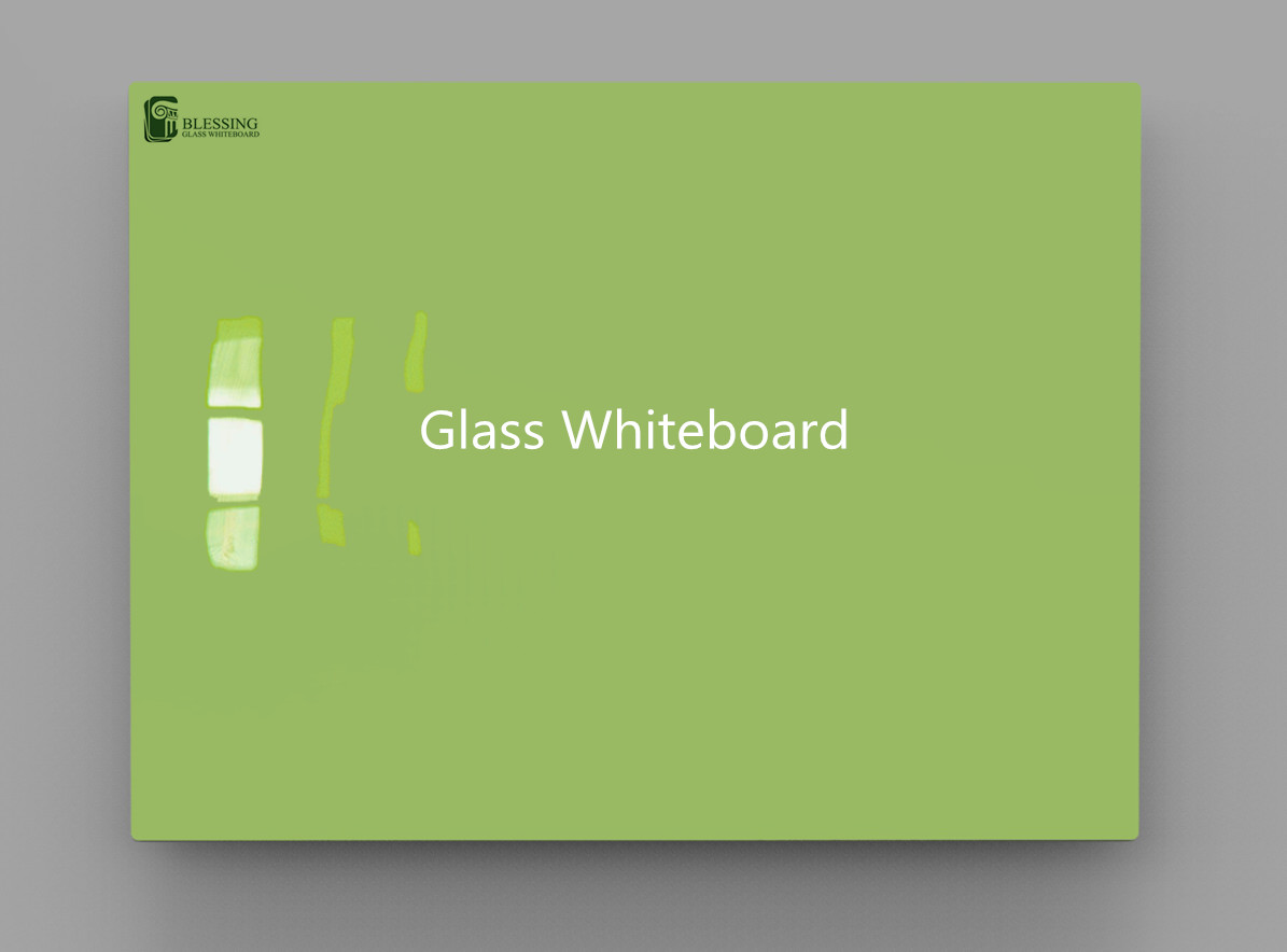 Glas Whiteboard Customized Green Glass Drawing Board Kid Drawing Board Colored