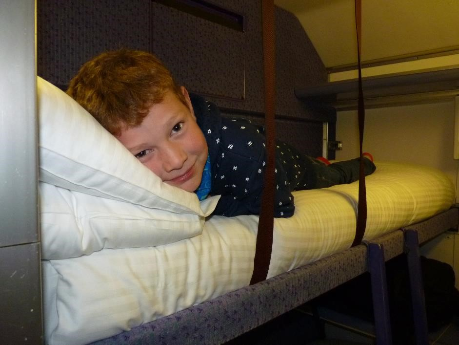 A Family Trip On The Caledonian Sleeper London To Fort