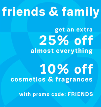 Lord & Taylor Friends and Family, 10/23-10/29