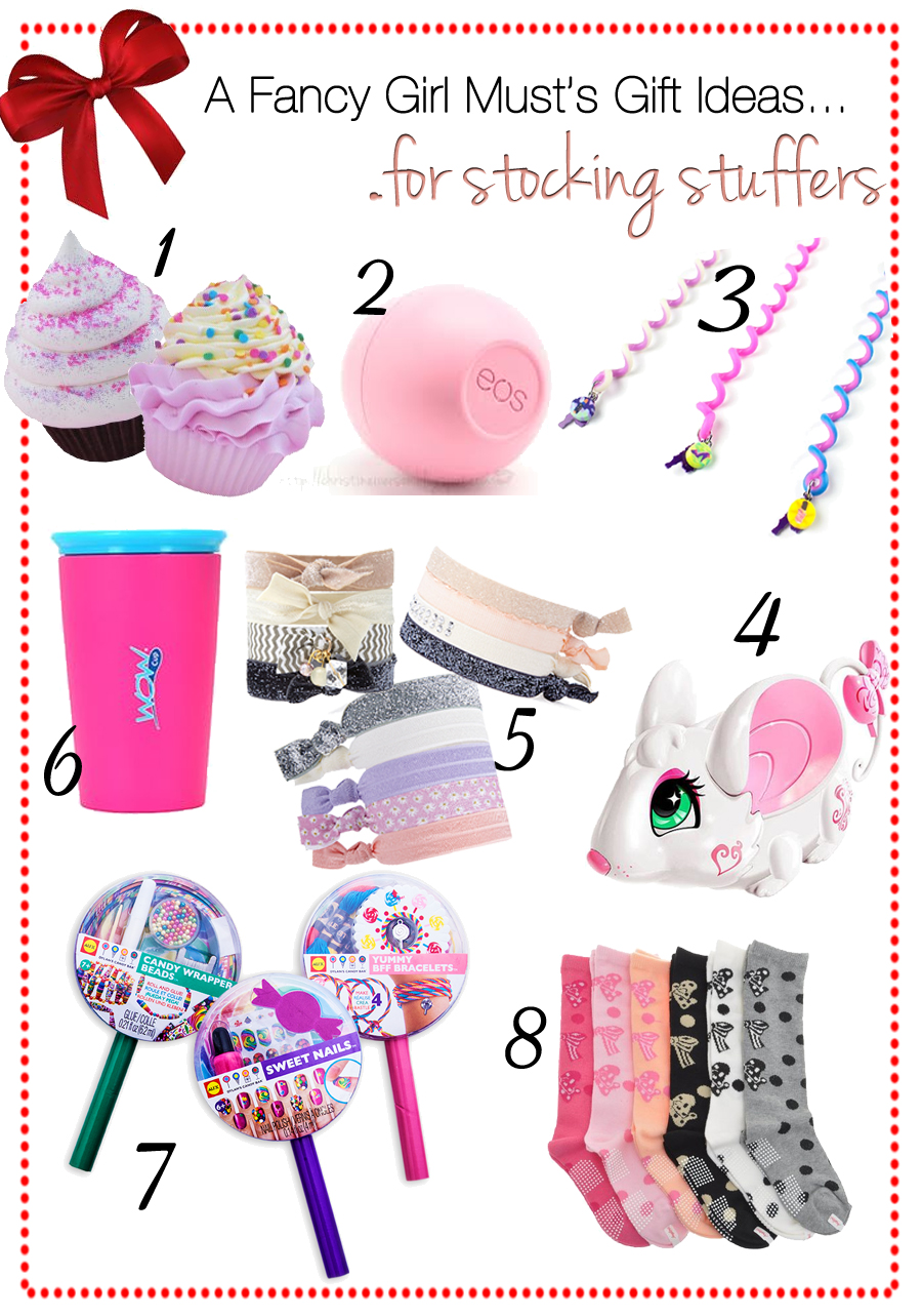 Holiday gift guide stocking stuffers for girls a