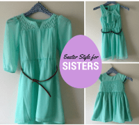 Easter Style for Sisters: Minty Fresh | AFancyGirlMust.com