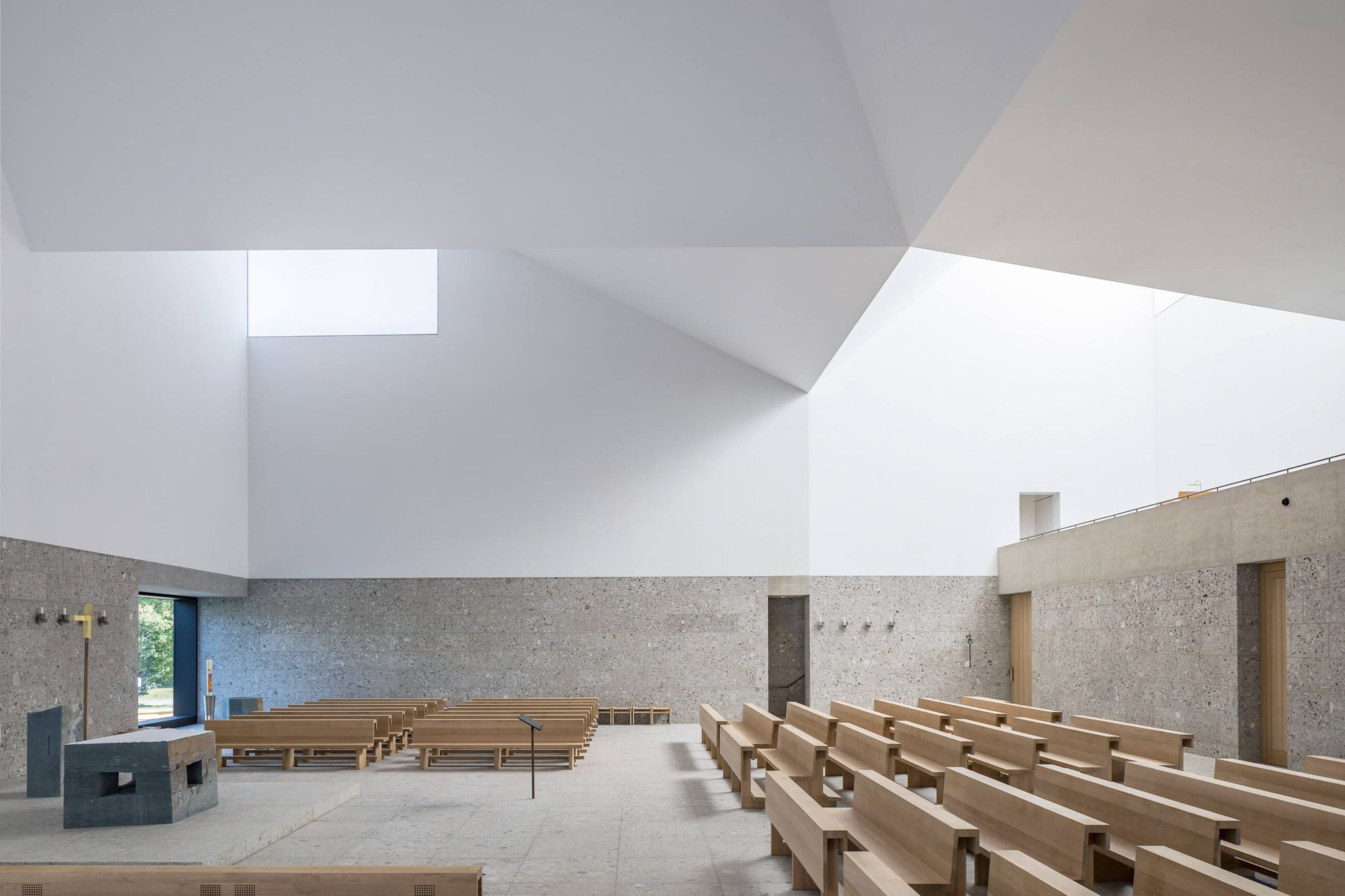 Meck Architekten Meck Architekten Seliger Pater Rupert Church Complex Poing 7