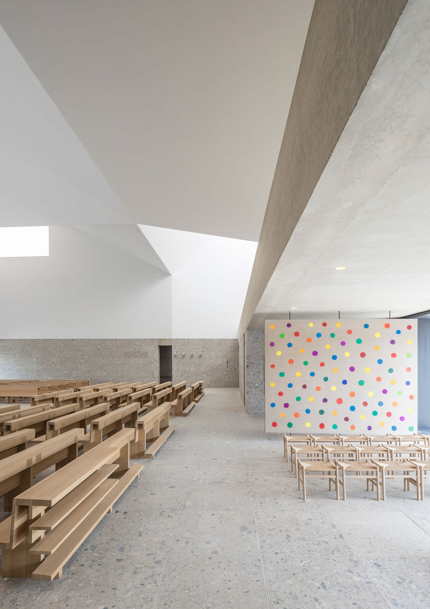 Meck Architekten Meck Architekten Seliger Pater Rupert Church Complex Poing 9