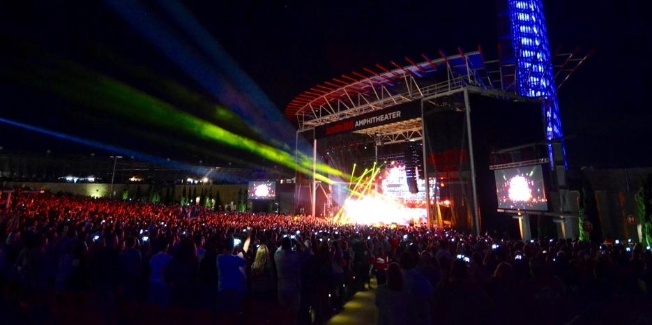 Austin Live Music Concert Venue Austin360 Amphitheater