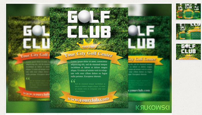 5 Free Golf Outing Flyer Templates AF Templates