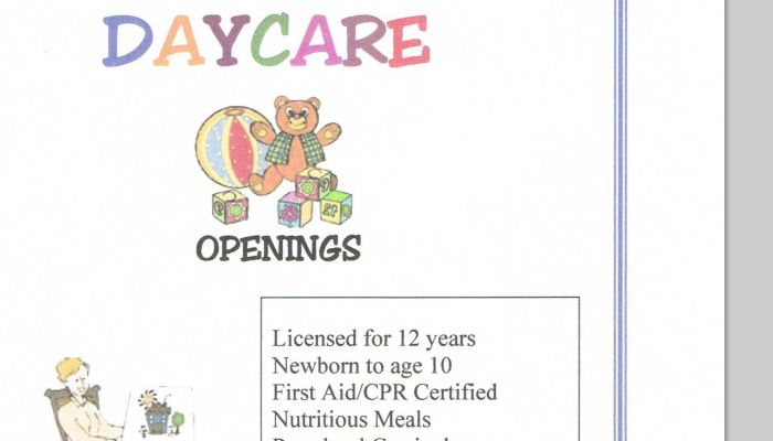 5 Daycare Flyers Templates AF Templates - daycare flyer template