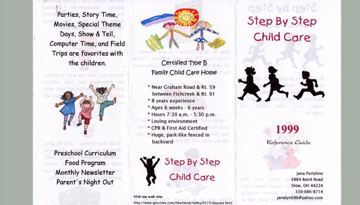 free daycare flyer templates - Daycare Flyer Template