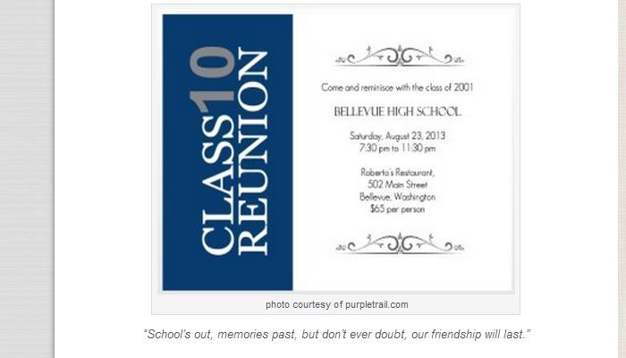 5 High School Reunion Flyer Templates AF Templates - class reunion invitation template