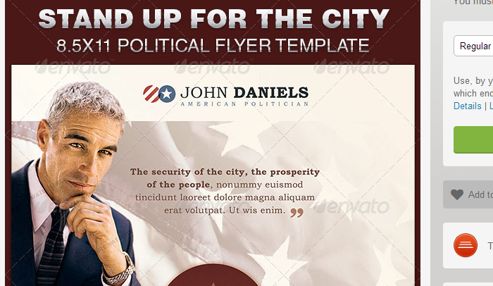 Doc700434 Campaign Flyer Template Political Campaign Flyer – Political Flyer Template
