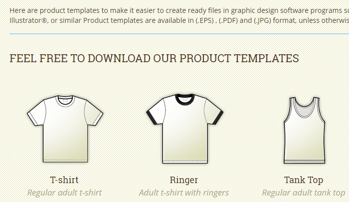 Great Indesign T Shirt Template AF Templates