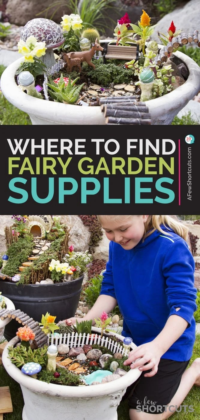 7 Places To Find Inexpensive Fairy Garden Supplies A Few Shortcuts