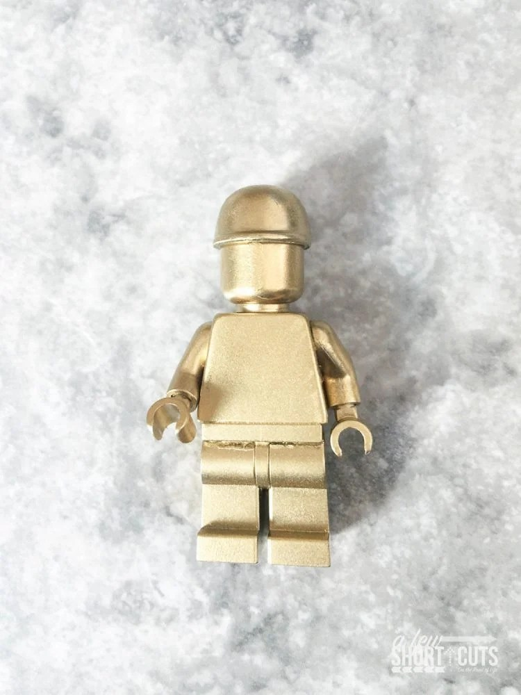 When Is It Too Cold To Paint Outside How To Make Rare Gold Lego Minifigures - A Few Shortcuts