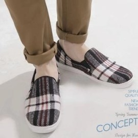Plaid Slip-Ons