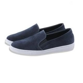 Faux-Suede Slip-Ons